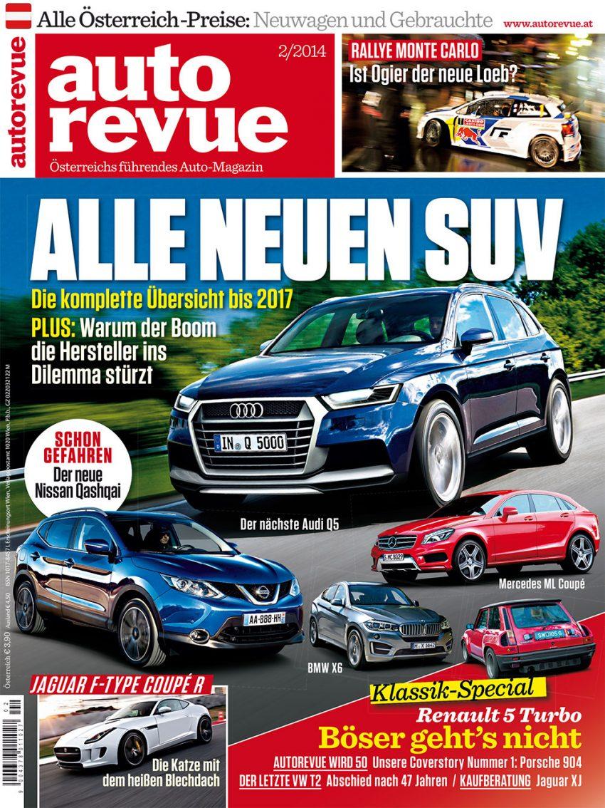 Autorevue Magazin-Archiv: Ausgabe 02/2014