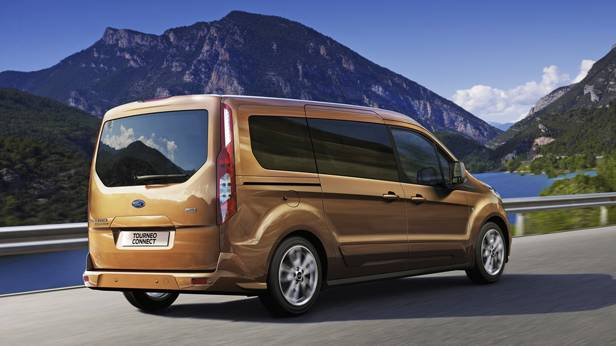 Ford Tourneo Connect 2014 hinten heck seite