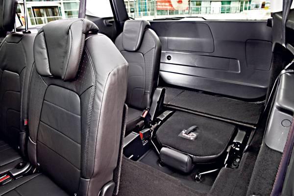 Citroën Grand C4 Picasso BlueHDi 150 Exclusive sitze hinten rückbank