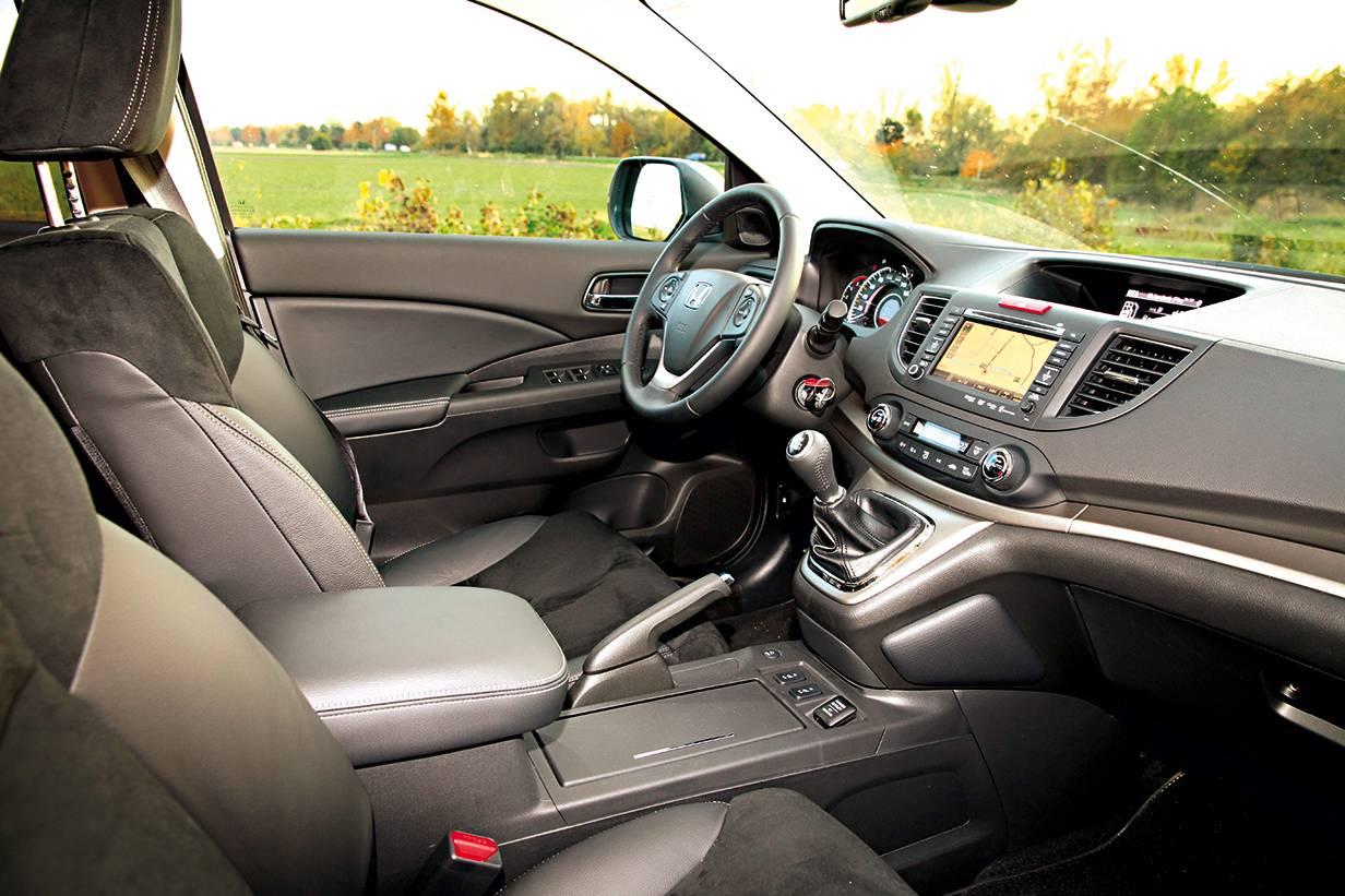 Honda CR-V innenraum cockpit innen