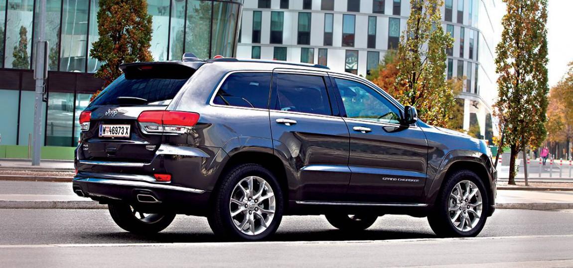jeep grand cherokee 2014 crd summit hinten seite