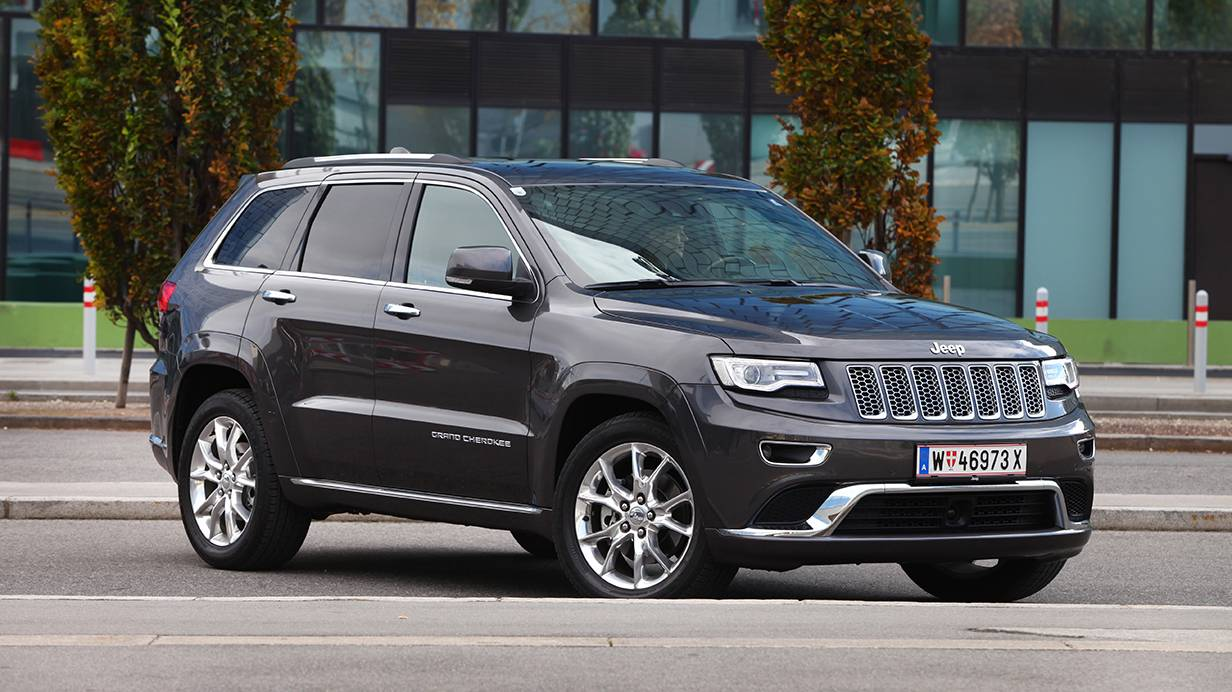 fahrbericht jeep grand cherokee 3 0 crd summit im test. Black Bedroom Furniture Sets. Home Design Ideas