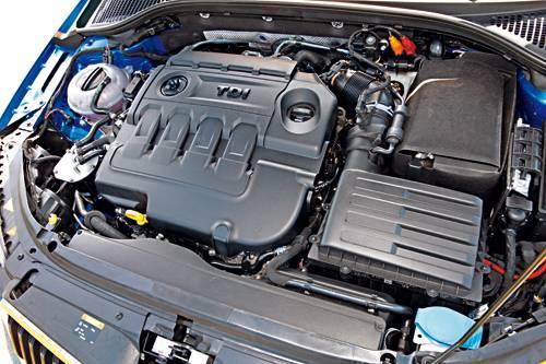 Combi RS TDI TSI Vergleich motor