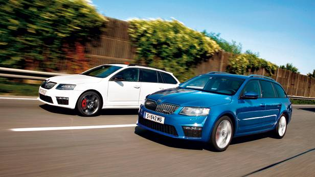 vergleichstest skoda octavia rs combi tsi vs tdi. Black Bedroom Furniture Sets. Home Design Ideas