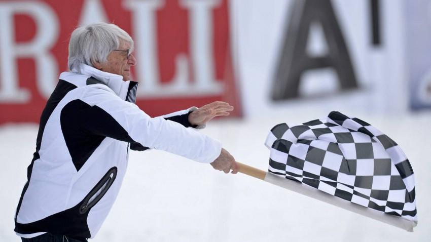 Bernie Ecclestone in Kitzbühel