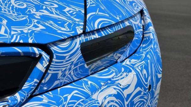 Laser-Scheinwerfer des BMW i8