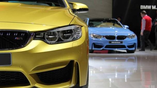 Das BMW M4 Coupé