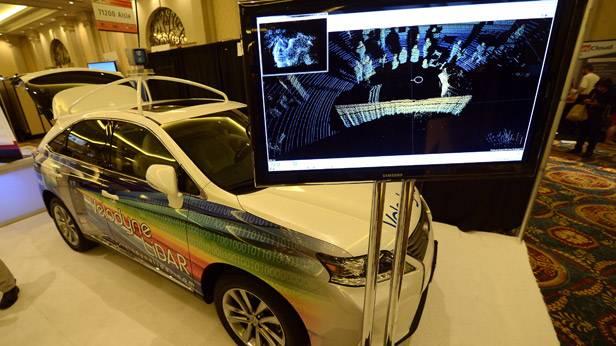 CES 2013: Velodyne LiDar zeigt einen 360 Grad Scanner für das Auto