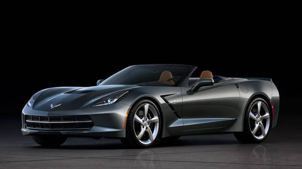 Die Chevrolet Corvette