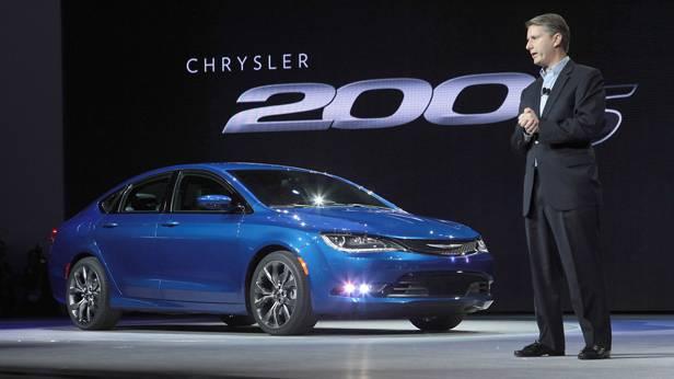 Der Chrysler 200 auf der Detroit Autoshow 2014