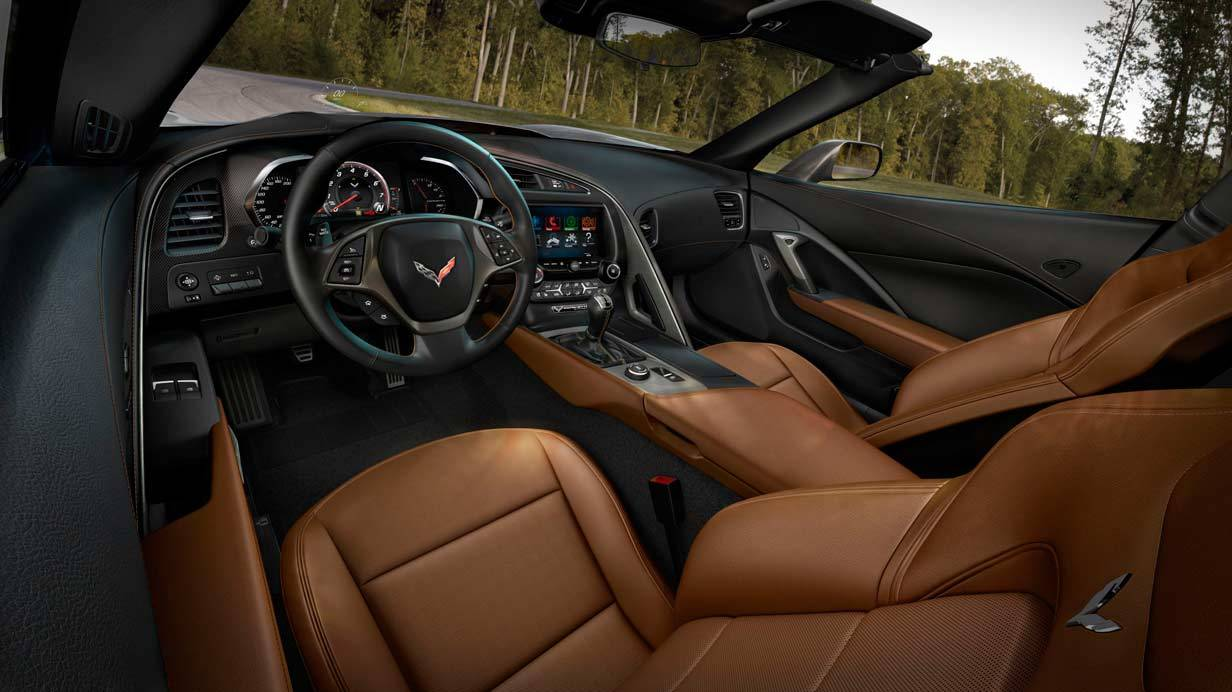 _Corvette C7 Stingray innen