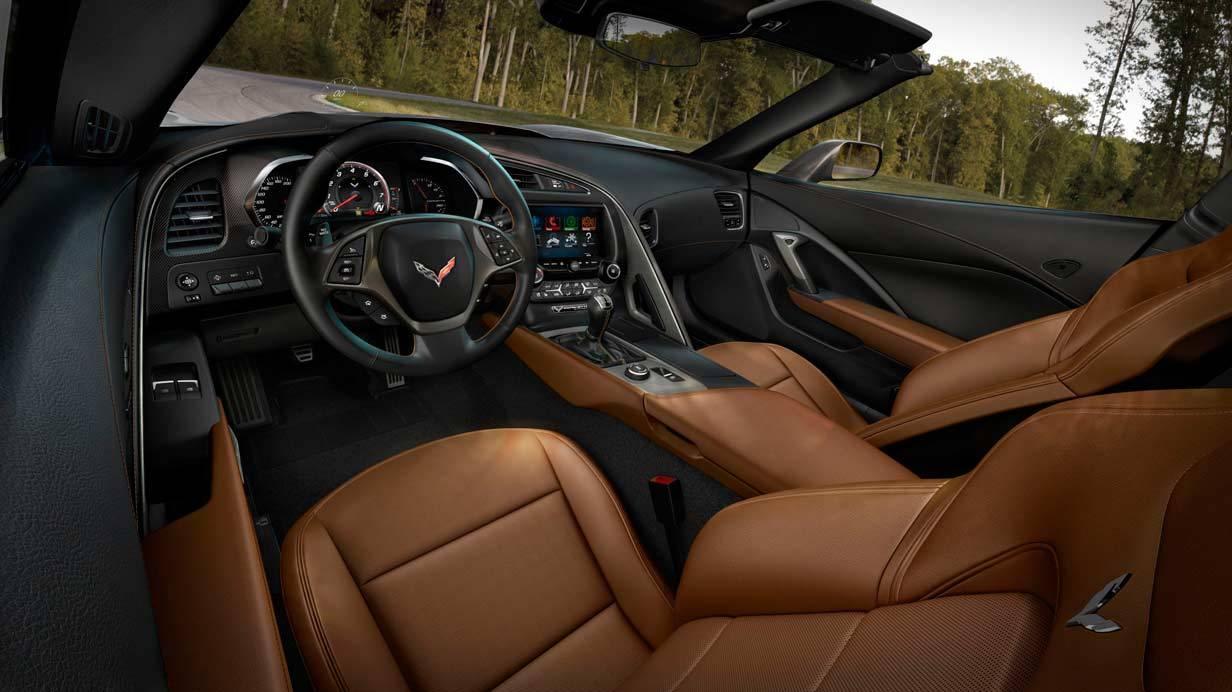 _Corvette C7 Stingray innen
