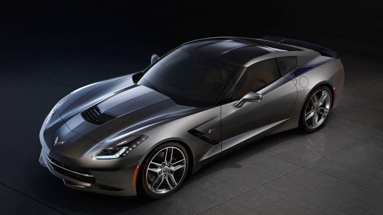 _Corvette C7 Stingray oben