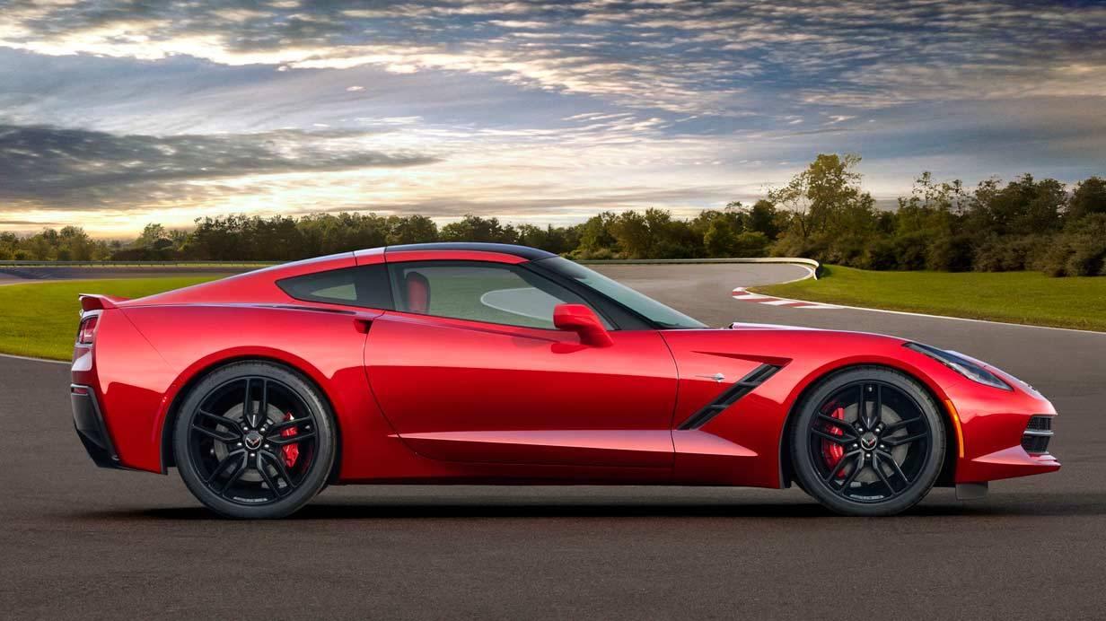 _Corvette C7 Stingray rot seite