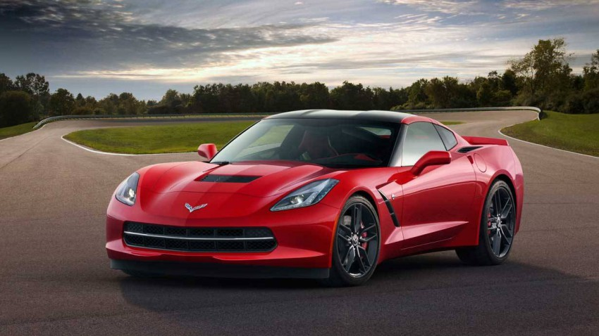 Die Corvette C7 Stingray