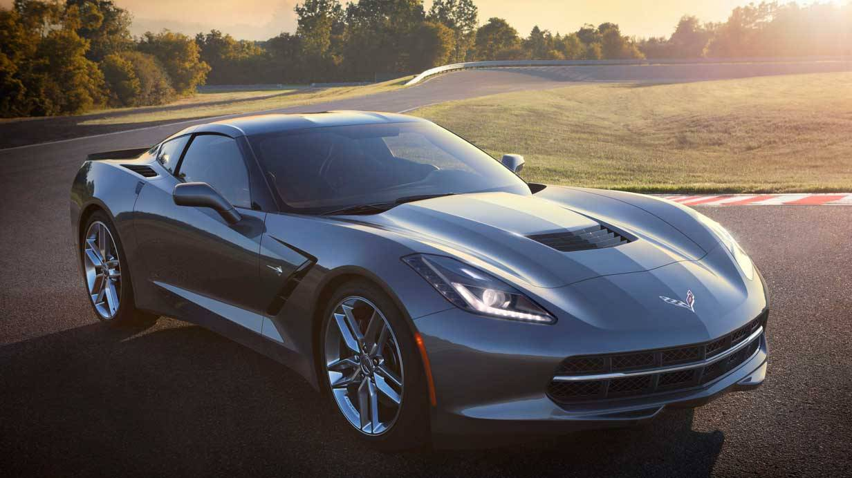 _Corvette C7 Stingray vorne2
