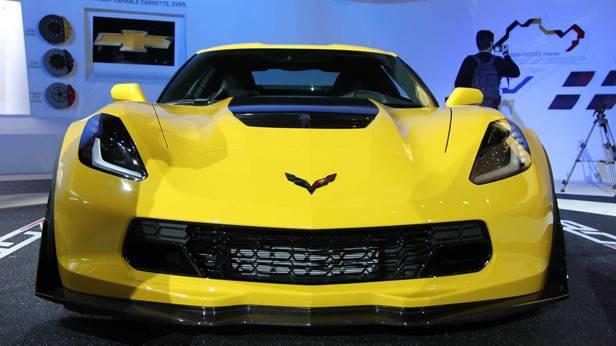 Die Corvette Z06 auf der Detroit Autoshow 2014
