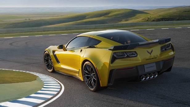 Die Corvette Z06 auf der Rennstrecke