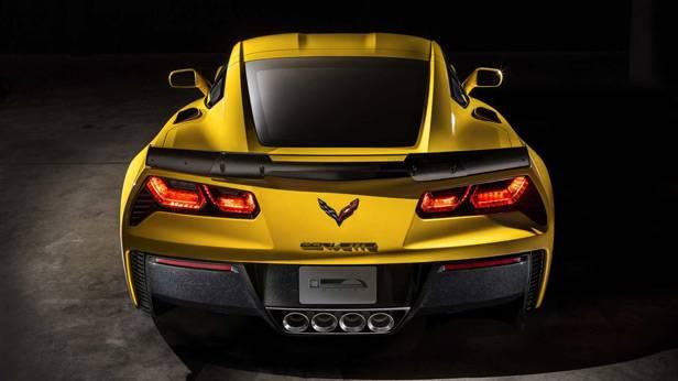 Heck der Corvette Z06