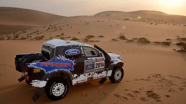 Dakar 2014: Rallye-Auto des Ford-Teams