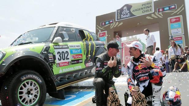 Die Dakar Gewinner von 2013
