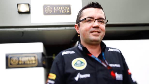 Der Lotus-Teamchef Eric Boullier