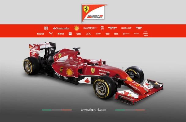 Der Ferrari F14T. © Bild: ferrari.com