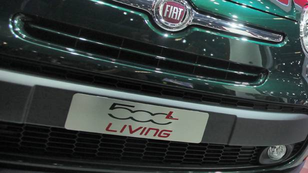 Der Fiat 500 Living L auf der IAA 2013