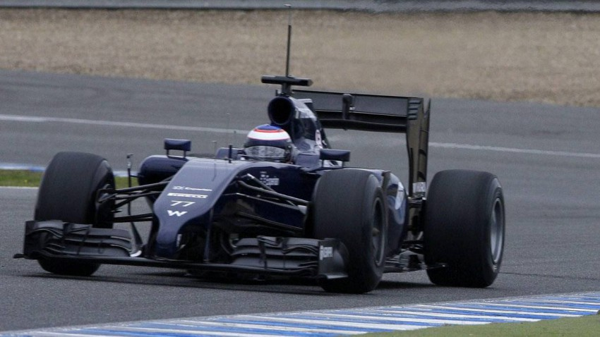 Valtteri Bottas bei den Tests in Jerez