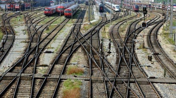 Gleise der ÖBB