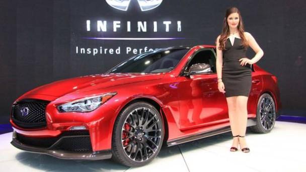Das Infiniti Q50 Eau Rouge Concept