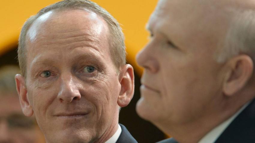CEO von Opel Karl-Thomas Neumann und CEO von GM Dan Akerson