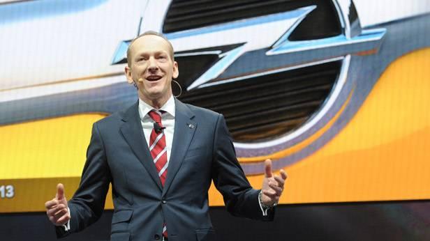 Karl-Thomas Neumann beim Genfer Auto Salon 2013