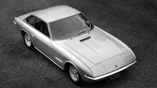 Der Lamborghini Islero von vorne