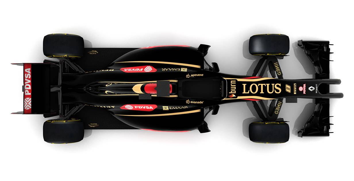 lotus e22 2014 top