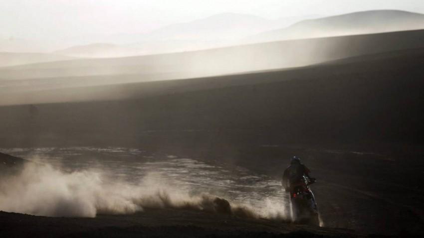 Marc Coma bei der Rallye Dakar 2014