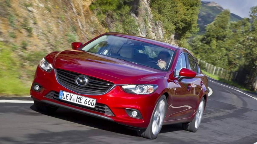 Mazda mit Skyactive Technologie