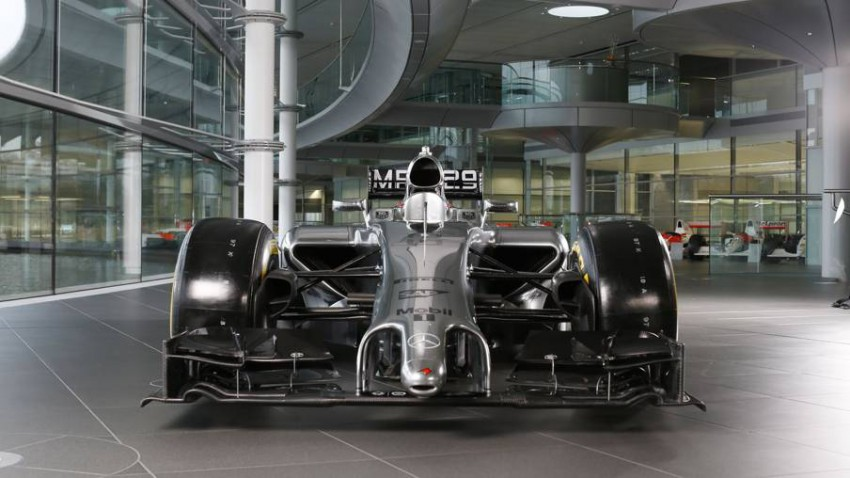 mclaren mp4-29 vorne