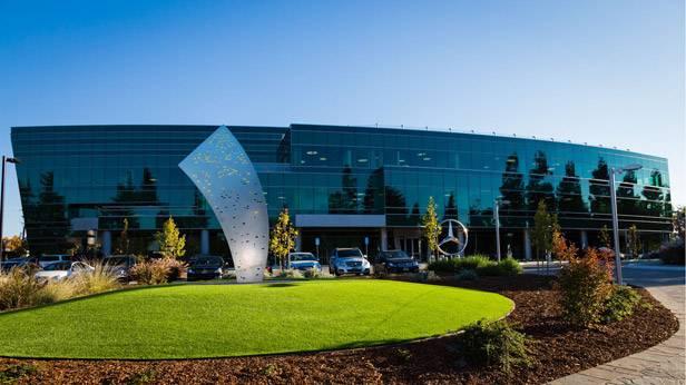 Das Mercedes-Benz Entwicklungszentrum in Sunnyvale