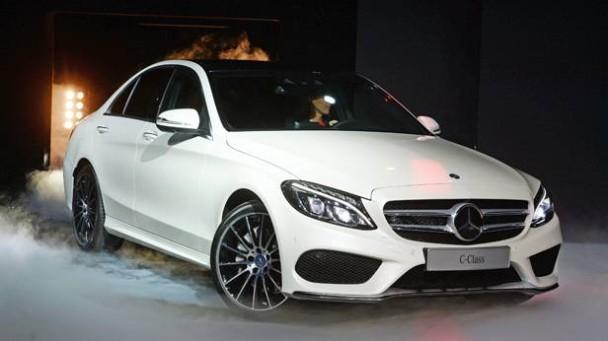 Die neue Mercedes C-Klasse.