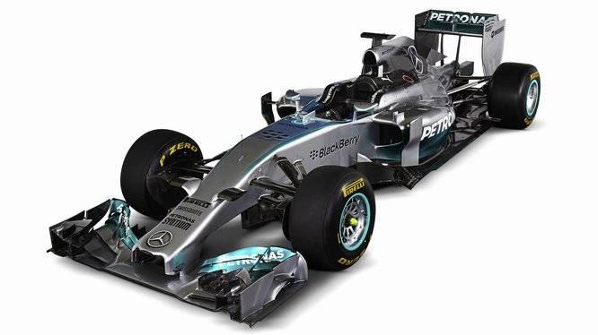 Mercedes F1 W05 © Bild: mercedesf1.com