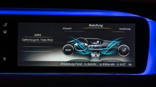 Die Mercedes S-Klasse innen