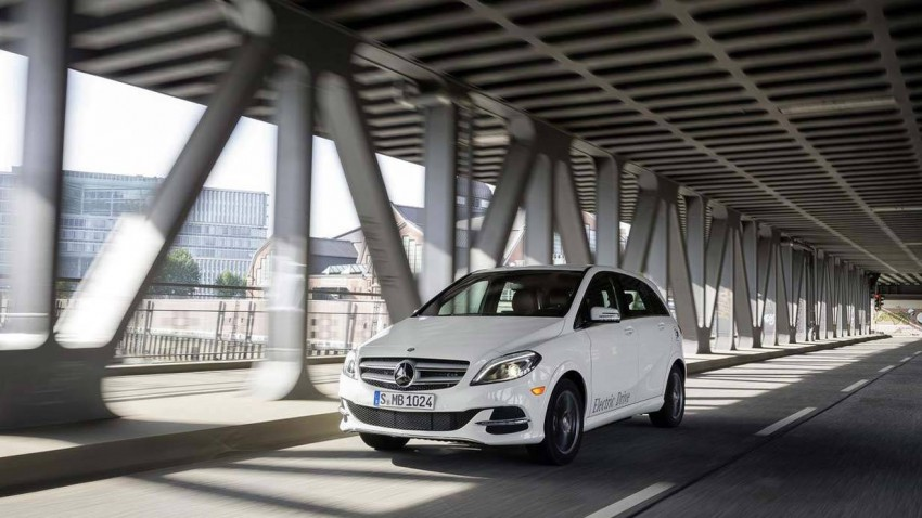 Die Mercedes-Benz B-Klasse Electric Drive