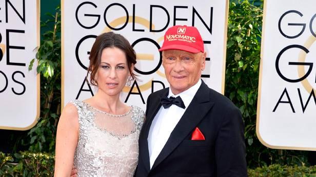 Niki Lauda bei den Golden Globes 2014