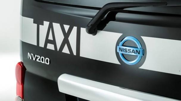 Der Nissan E NV200 London Taxi