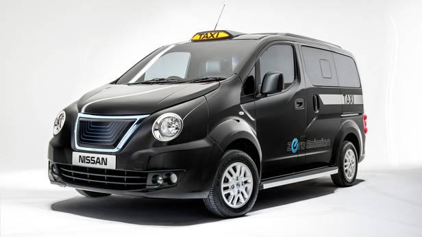 Der Nissan NV200 London Taxi