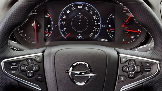 Der Opel Insignia Sports Tourer OPC, innen