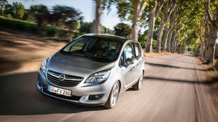 Der Opel Merivia 2014