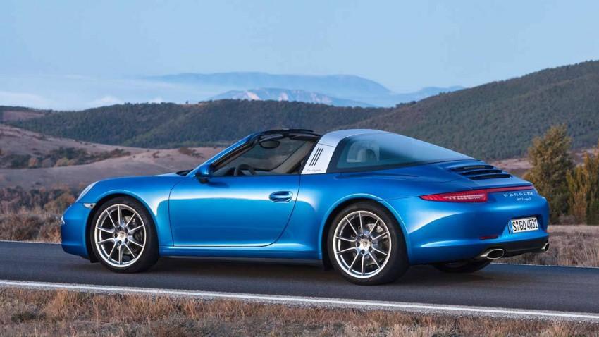Der Porsche 911 Targa
