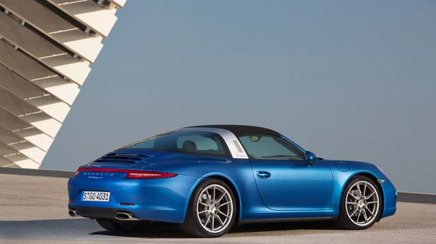 Der Porsche 911 Targa außen